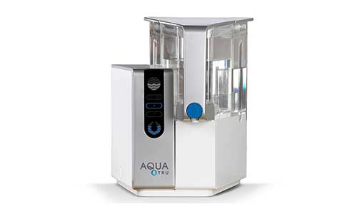 AquaTru Countertop Water Purification System with Exclusive 4 - Stage Ultra Reverse Osmosis Technology