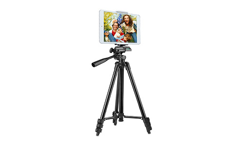 Tripod for iPad and iPhone [UPGRADED], PEYOU e Camera Tablet Tripod