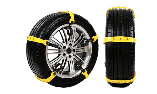 Car Snow Chains Snow Tire Chains Anti-slip Tire Chains for All Cars SUV Trucks