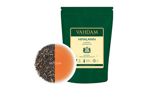 Vahdam Teas Himalayan Flowery Oolong Tea Leaves