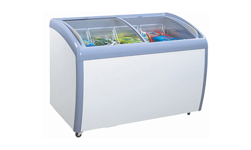 Atosa MMF9112 Angle Curved Top Chest Freezer.