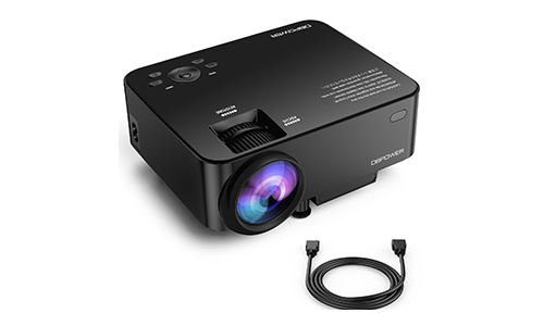 DBPOWER T20 1800 Lumens LCD Mini Projector
