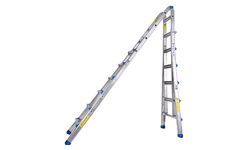 TOPRUNG 26 ft. Aluminum Extension Multi-Purpose Ladder with 300 lb. Load Capacity Type 1A Duty Rating