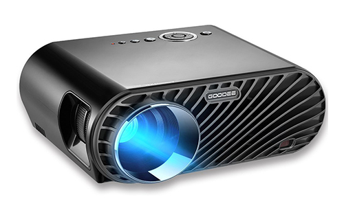 GooDee Portable Movie Projector 3200 Lumens