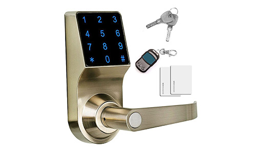 Fingerprint SAMSUNG SHS-5230 (SHS-H700) digital door lock keyless touch pad security EZON