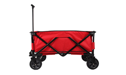 Patio Watcher Heavy Duty Collapsible Folding Garden Cart Utility Wagon
