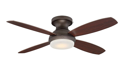 Unwired Home Bronze Indoor Ceiling Fan