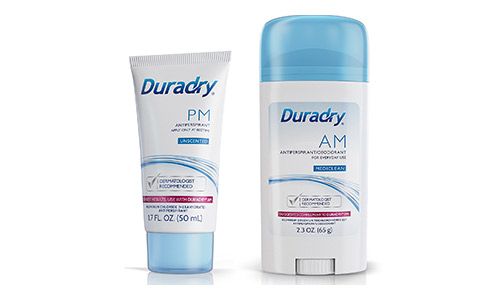 Duradry Protection System – Prescription Strength Antiperspirant Deodorant, Made in USA