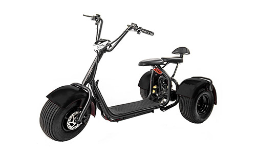 eDrift UH-ES395 Fat Tires Electric Moped for Adults