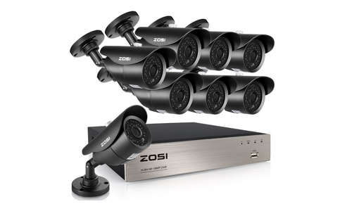 ZOSI FULL HD 1080p 8CH Security Camera System