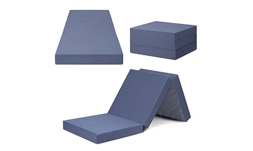 Olee Sleep Tri-Folding Memory Foam Mattress