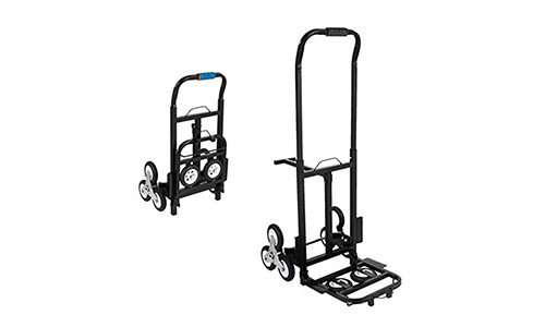 #BestEquip Portable 330 LBS Capacity Stair Climbing Cart 30 Inch Folded Height Stair Climber Hand Truck
