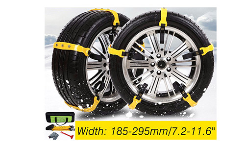 Snow Chains Car Anti Slip Tire Chains Adjustable Chains Car Tire Snow Chains