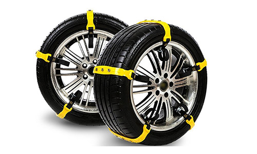 HUBORLOVES Snow Chains Anti-Skid Emergency Snow Tire Chains