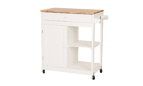 Glitzhome Kitchen Cart With Drawer.