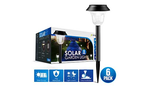 Forsous Solar Outdoor Solar Lights
