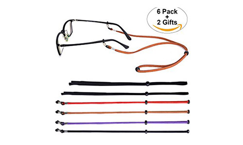 Glasses Holder Strap - SUKKI Eyeglass Lanyard String Glasses Chain Necklace
