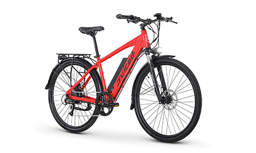 Juiced Bikes CrossCurrent S - 650W 28MPH Electric Commuter Bicycle