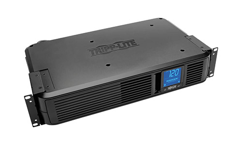 Tripp Lite 1500VA Smart UPS Battery Back Up, 900W Rack-Mount/Tower, LCD, AVR, USB, DB9 (SMART1500LCD)