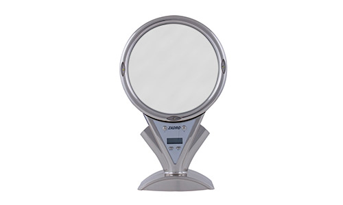 Zadr0 LED Lighted Shower Mirror