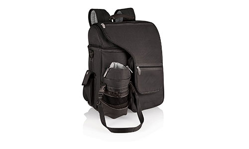 Picnic Time Turismo Insulated Backpack Cooler, Black