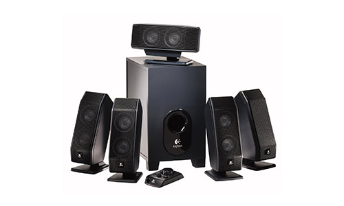 Logitech X-540 Best 5.1 Speakers Under 1000 with Subwoofer