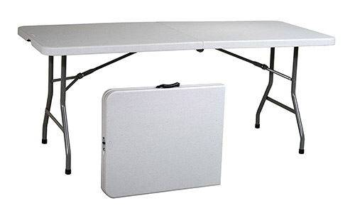 Office Star Resin Multipurpose Foldable Table
