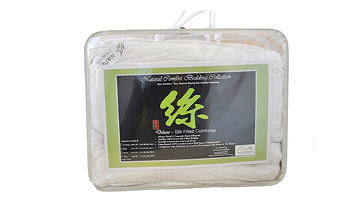 Natural Comforts Deluxe 100-Percent Natural Green Tussah Comforter