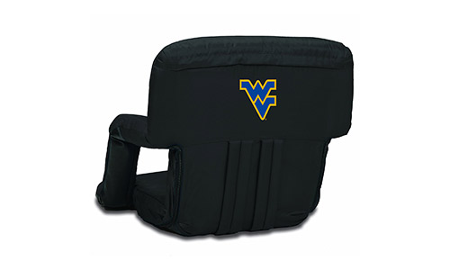 NCAA West Virginia Mountaineers Ventura Portable Reclining Seat