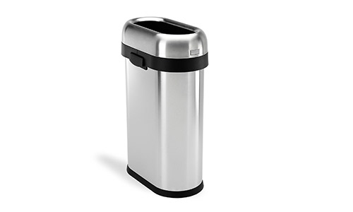 simplehuman Slim (Open Top) Trash Can