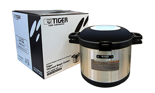 Tiger Vacuum Insulated Non-Electric Thermal Cooker