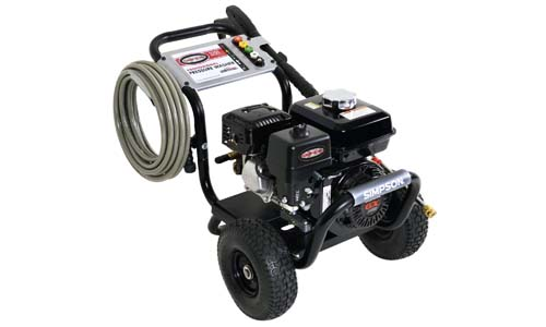 Simpson cleaning PS3 228-S 3300 PSI gas pressure washer