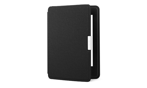 Onyx Black, Kindle Paperwhite by Amazon Leather Case