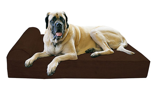 """Big Barker presents 7"""" Orthopedic Dog Bed for Large, XL and XXL dogs"""