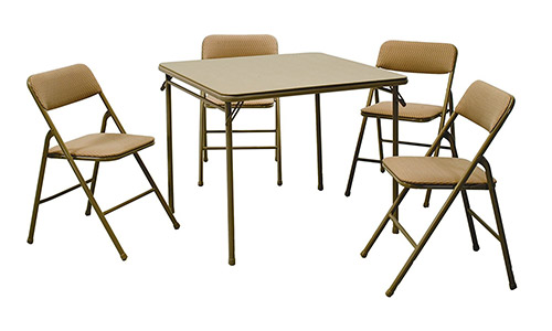 Cosco 5-Piece Folding Table and Chair