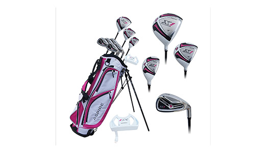 Aspire Ladies Complete Right Handed Golf Club Set
