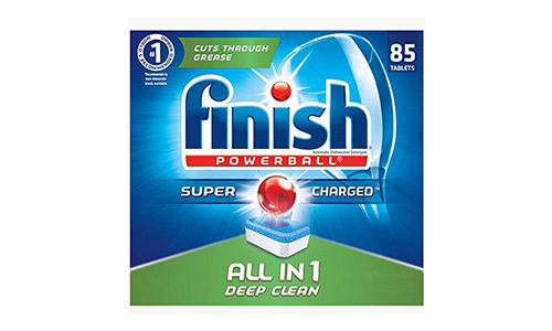 Finish All in 1 Dishwasher Detergent Tablets