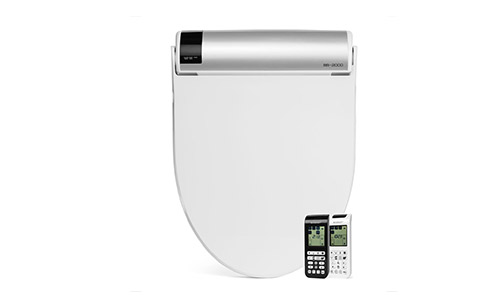 BioBidet Bliss Elongated White Bidet Smart Toilet Seat