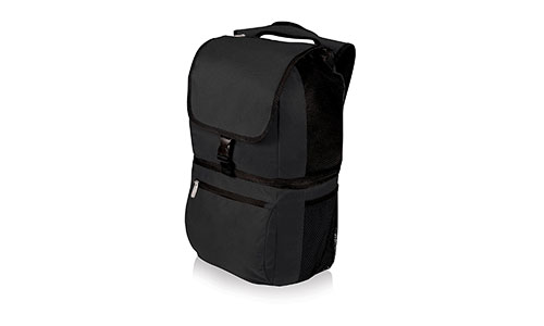 Picnic Time Zuma Insulated Cooler Backpack, Black