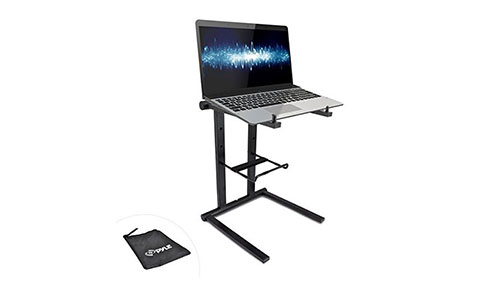 Pyle Portable Folding Tabletop DJ Stand