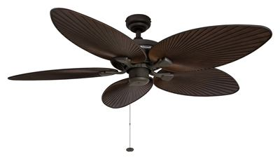 Honeywell Palm Island Tropical Ceiling Fan with Bronze Finishing