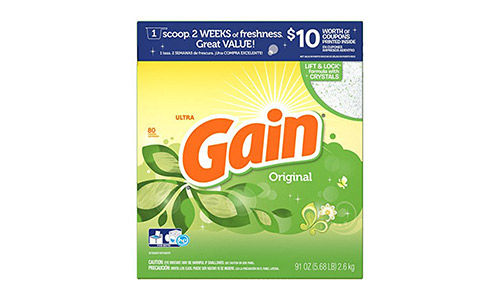 Gain HEC Ultra Original Powder Laundry Detergent