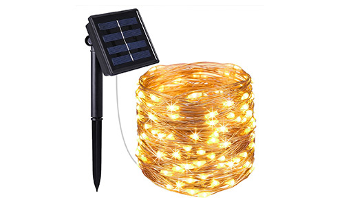AMIR Solar Powered String Lights