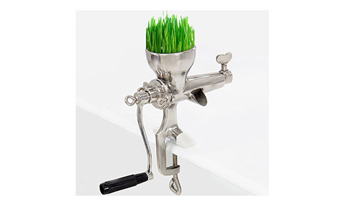 The Electric California Wheat Grass Manual Juicer