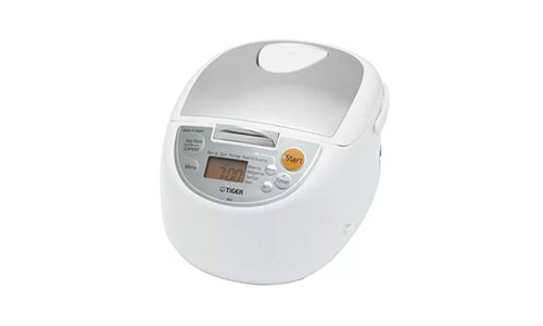 Tiger Micom Rice Cooker with Food Steamer