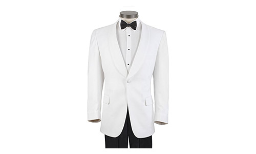 Men's White Formal Dinner Jacket