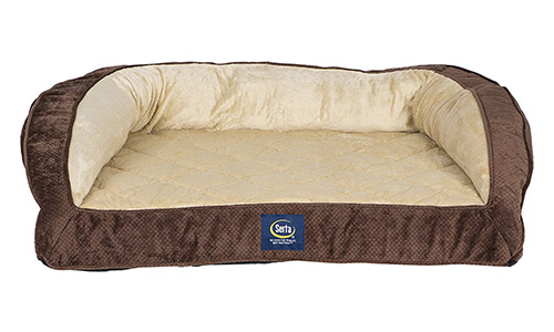 Orthopedic Quilted Couch by Serta