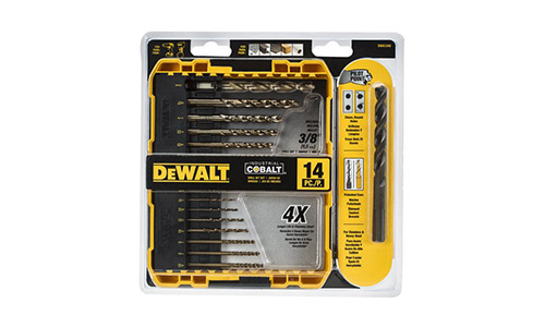 DEWALT Pilot Point Industrial Cobalt Drill Bit Set