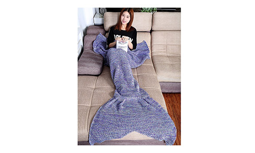 JustCreat presents Warm and Soft All Seasons Mermaid Blanket