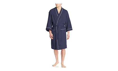 Fruit of the Loom Men's Waffle Robe